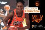 Meiya Tirera continuará en Valencia Basket