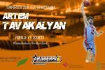 El alero Artem Tavakalyan, internacional absoluto con Armenia, cuarto fichaje del Sáenz Horeca