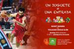 """Basket Navarra: Un juguete por una entrada con """"Nuevo Futuro"""""""