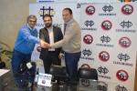 Acuerdo de futuro entre el Carramimbre CBCV y el centro comercial Vallsur