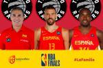 Marc, Ibaka y Scariolo, campeones de la NBA