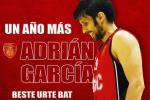 Adrián García, un hombre de club que continúa en Basket Navarra