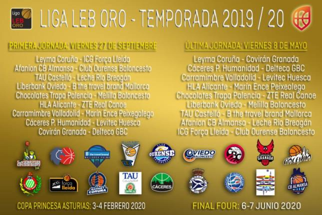 Calendario Playoff Basket 2020.Calendario Pasion Y Exigencia Desde El Minuto Uno En La