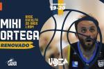 Miki Ortega renueva su compromiso con Enerdrink UDEA para la LEB Plata
