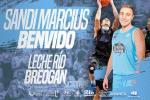 El pívot  Aleksandar Marcius se suma al juego interior del Leche Rio Breogán