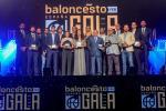 La Federación reúne a toda la familia del baloncesto español en su primera Gala