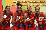 La Selección Femenina conquista la medalla de plata en el Europeo