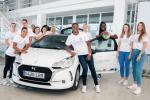 El Campus Promete recibe en Auto Iregua el DS3 Citroën como vehículo oficial de la temporada