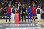 Homenaje de la acb y la FEB al Oro Mundial en la Supercopa Endesa