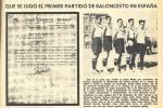 Europa-Laietà: un partido histórico el 8 de diciembre de 1922