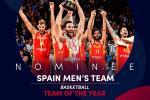 La Selección Española, nominada a Mejor Equipo del Año en los Premios Laureus
