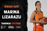 Marina Lizarazu se desvincula de Valencia Basket