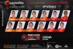Las 12 para el Preolímpico de China