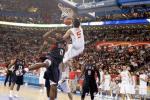 Rudy Fernández y la explosión en el mejor partido de baloncesto FIBA