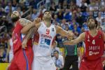 2015: España vs Serbia, el bloqueo final lleva a la derrota en el debut