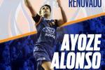 Ayoze Alonso seguirá en el CB Tizona