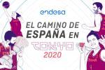 Un 2019 dorado y de ensueño: el camino de España a Tokyo 2020