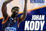 Johan Kody seguirá apuntalando la pintura del UBU Tizona