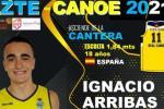 Nacho Arribas producto de la casa para el ZTE Real Canoe