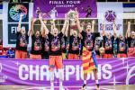 El Valencia BC consigue el primer título de su historia