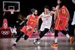 España presenta sus fortalezas en el debut en Tokio (77-88)