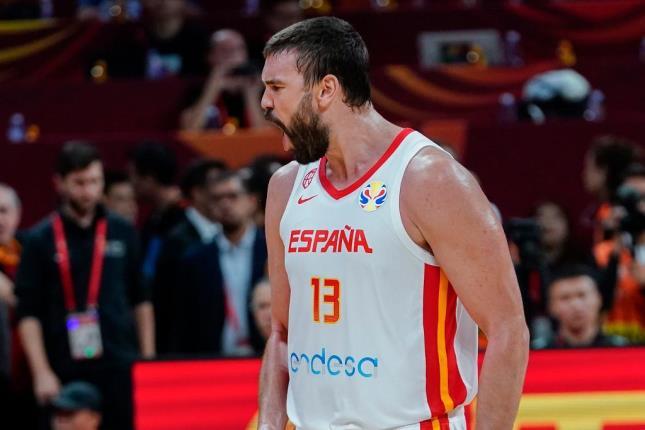Marc Gasol, una actuación inolvidable al borde de un ataque de nervios |  Federación Española de Baloncesto