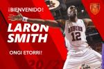 El pívot Laron Smith completa el juego interior de Basket Navarra