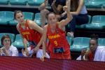 Laia Palau, en el podio de la experiencia olímpica