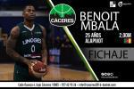 El camerunés Benoit Mbala, nuevo fichaje del Cáceres P. Humanidad